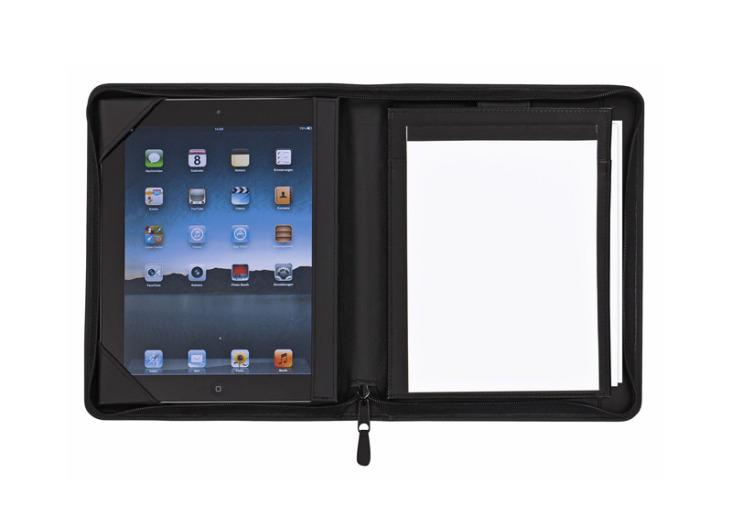 Spezia - Qualität in Leder - Konferenzmappe A5 für iPad