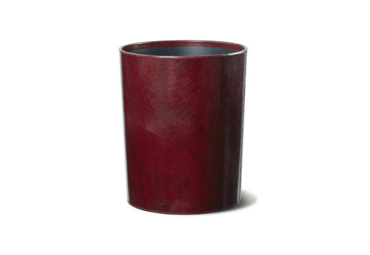 Spezia - Qualität in Leder - Papierkorb